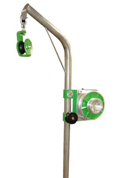 Hydraulic Line Puller : Pots hauler ? w davit arm virhydro the fishing machine